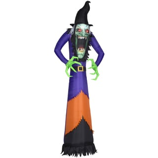 Photorealistic Green Witch