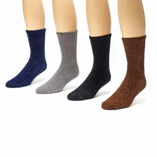 Muk Luks Men's Aloe Socks (Pack of 4)
