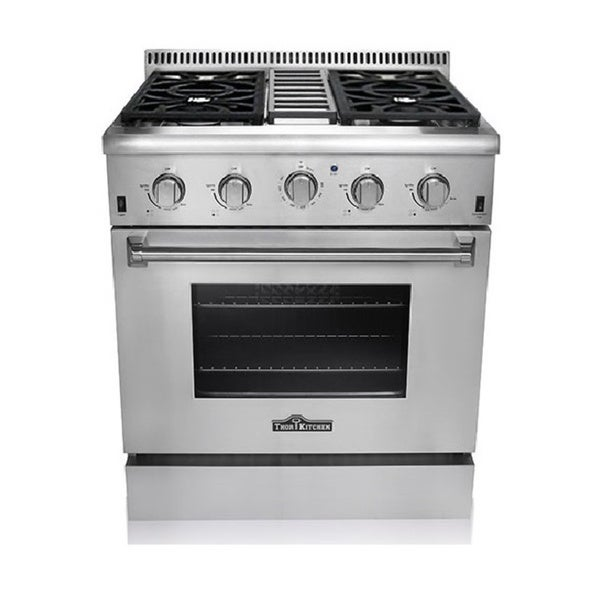thor kitchen 30 inch stainless steel professional gas