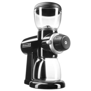 KitchenAid KCG0702OB Onyx Black Burr Grinder