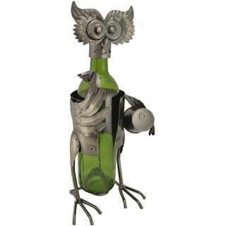 Owl Wine Bottle Holder