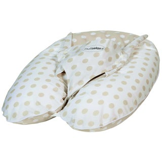 Candide 3-in-1 Multirelax White and Beige Dots Maternity Pillow