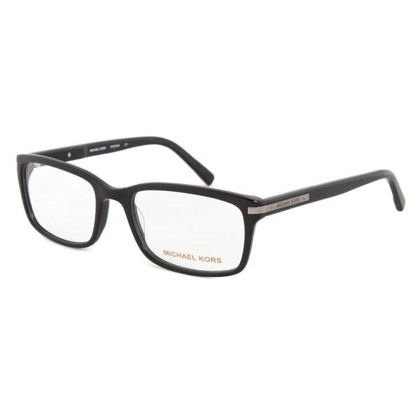 Michael Kors Black Frame Glasses : Michael Kors MK698M 001 Optical Eyeglasses Frames, Black ...
