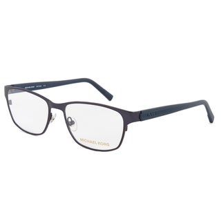 Michael Kors MK744M 414 Optical Eyeglasses Frame, Gunmetal Grey/Size 53