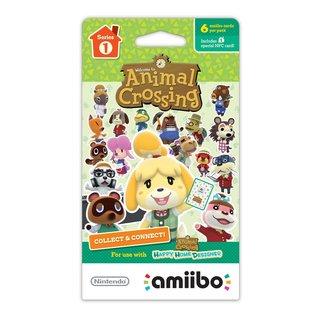 Nintendo Animal Crossing Cards 6 Pack Series 1