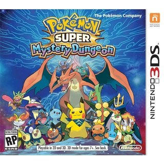 POKEMON SUPER MYSTERY DUNGEON -Nintendo 3DS