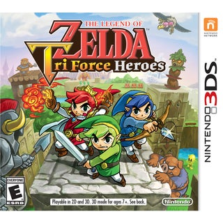 Nintendo 3DS - The Legend of Zelda: Triforce Heroes