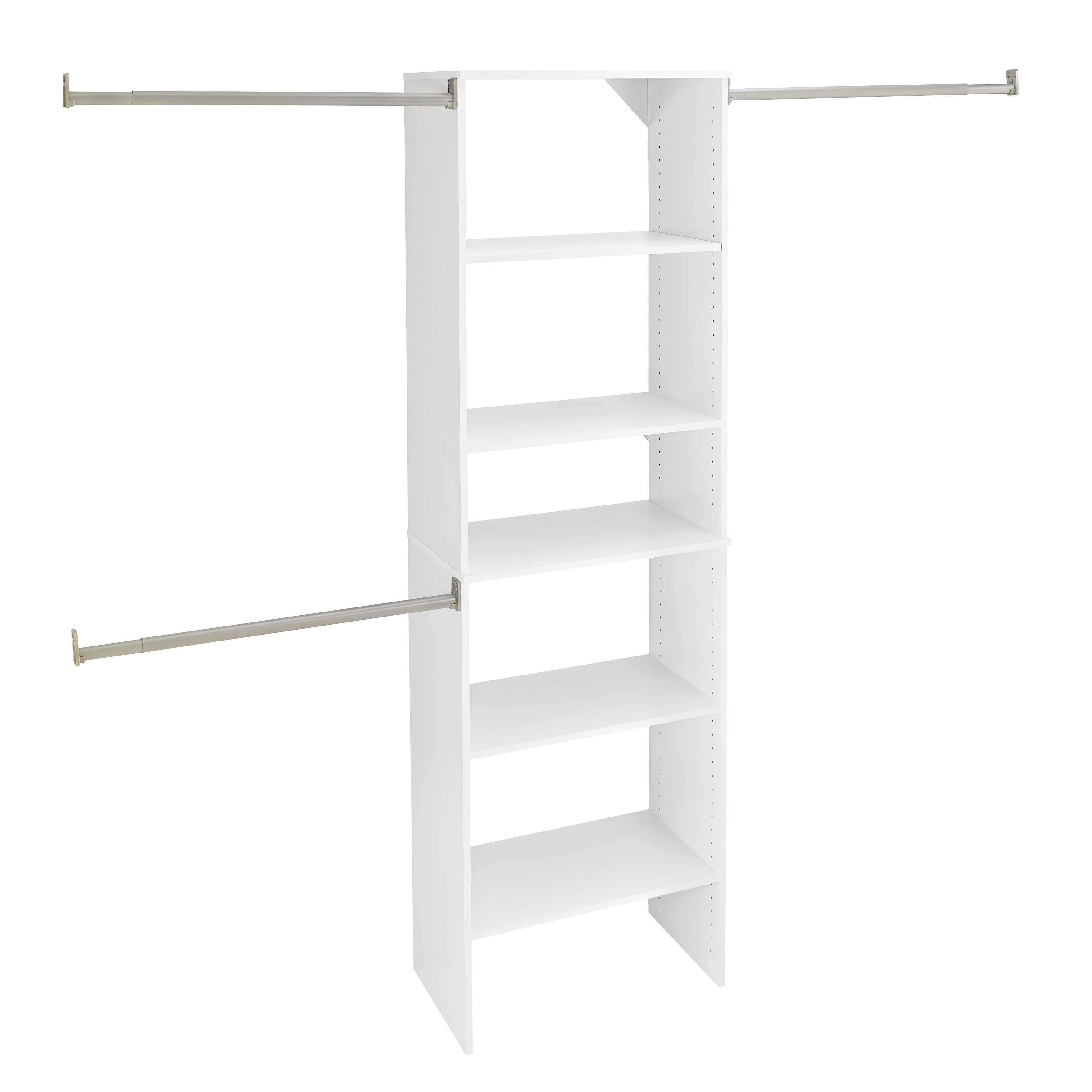Closetmaid Accessories White Wire Shoe Shelf Kit - Best Closet 2018