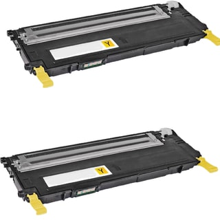 Samsung CLT-Y407S Yellow Compatible toner Cartridge For CLP-CLP-320/325 ( Pack of 2 )
