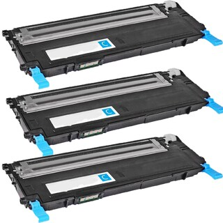 Samsung CLT-C407S Cyan Compatible toner Cartridge For CLP-CLP-320/325 ( Pack of 3 )