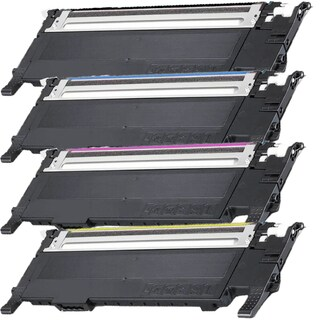 Samsung CLT-K407S CLT-C407S CLT-Y407S CLT-M407S Compatible toner Cartridge For CLP-CLP-320/325 ( Pack of 4 )