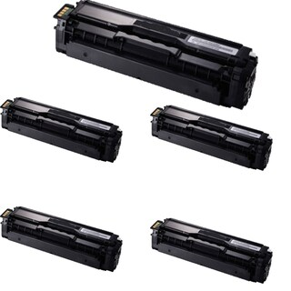 Samsung CLT-K504S Compatible Toner Cartridge For CLP-415NW / CLX-4195FW ( Pack of 5 )