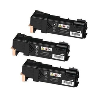 Xerox 6121 Compatible Toner Cartridge Black For 6121 6121N ( Pack of 3 )