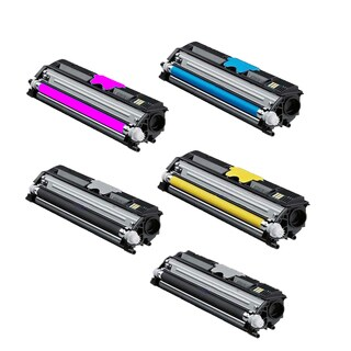 Xerox 6121 Compatible Toner Cartridge 2 Black, 1 Cyan, 1 Magenta, 1 Yellow For 6121 6121N ( Pack of 5 )