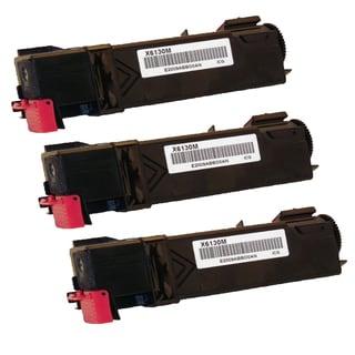 Xerox 6130 Compatible Toner Cartridge Magenta For 6130 6130N ( Pack of 3 )