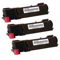 2PK Compatible QMS 3300 BK Toner Cartridge For Konica Minolta QMS Magicolor 3300 ( Pack of 2 )