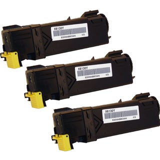 Xerox 6130 Compatible Toner Cartridge Yellow For 6130 6130N ( Pack of 3 )