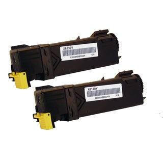 Xerox 6130 Compatible Toner Cartridge Yellow For 6130 6130N ( Pack of 2 )
