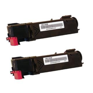 Xerox 6130 Compatible Toner Cartridge Magenta For 6130 6130N ( Pack of 2 )