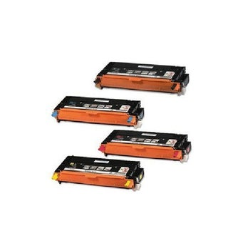 Xerox 6280 Compatible Toner Cartridge Black Cyan Magenta Yellow For Phaser 6280 ( Pack of 4 )