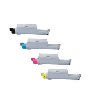 Xerox 6360 Compatible Toner Cartridge High Yield Black Cyan Magenta Yellow For 6360 6360N 6360DN 6360DT 6360DX ( Pack of 4 )