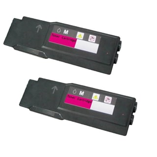 Xerox 6600 Compatible Toner Cartridge Magenta For Phaser 6600N toner Phaser 6600 Phaser 6600N ( Pack of 2 )
