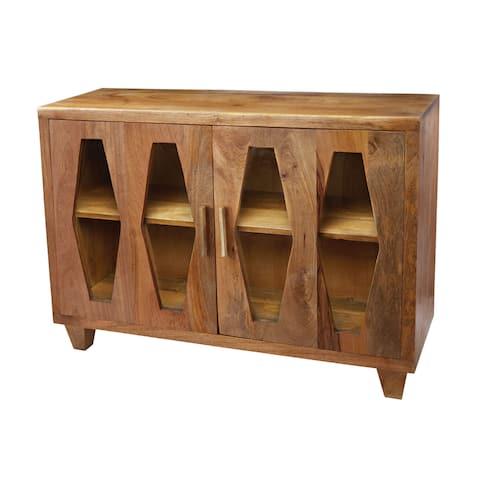 LS Dimond Home Retro Diamond Cabinet