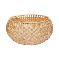 Dimond Home Large Natural Fish Scale Basket