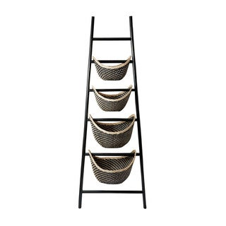 Elk Lighting Dimond Home Black Plaid Ladder Basket