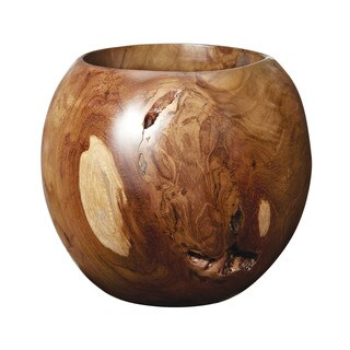 Dimond Home Small Teak Bowl