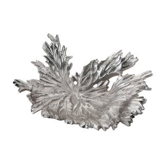 Dimond Home Nickel Star Leaf Bowl