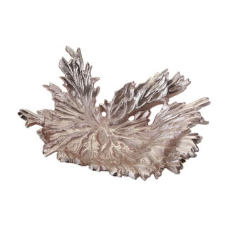 Dimond Home Rose Gold Star Leaf Bowl