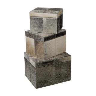 Elk Lighting Dimond Home Nested Faux Pony Boxes (Set of 3)