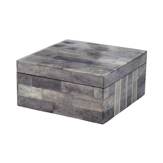 Dimond Home Large Grey And White Bone Boxes