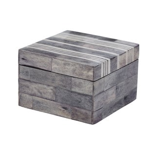 Dimond Home Small Grey/ White Bone Boxes
