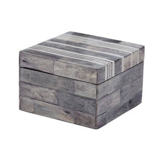 Dimond Home Small Grey/ White Bone Boxes