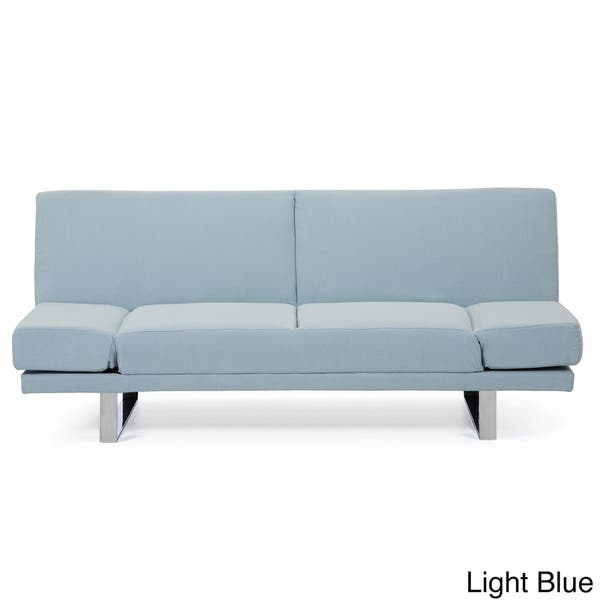Shop & New York Fabric Upholstered Sofa Bed Convertible ...