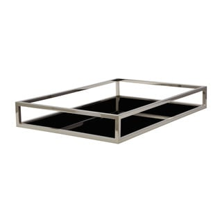 Elk Lighting Dimond Home Black Rectangular Box Rod Tray