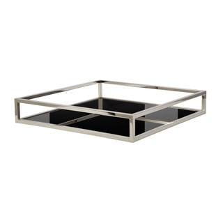 Dimond Home Black Square Box Rod Tray