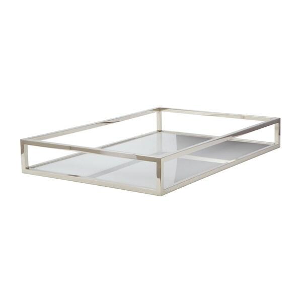 Dimond home white rectangular box rod tray free shipping