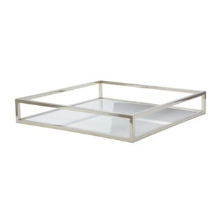 Dimond Home White Square Box Rod Tray