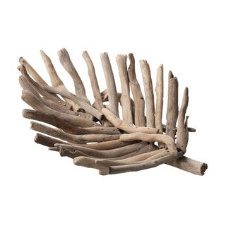 Elk Lighting Dimond Home Small Driftwood Leaf Tray