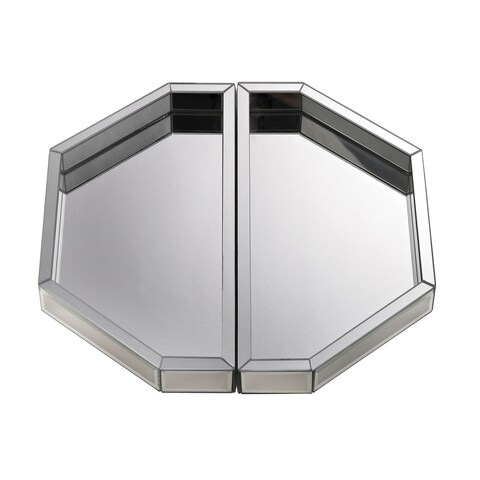 Dimond Home Mirrored Trays (Set of 2)