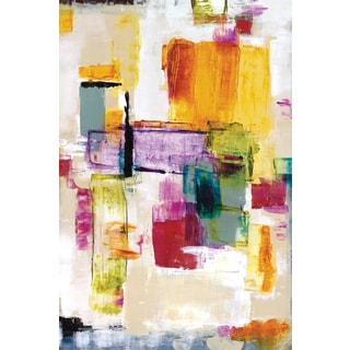 Portfolio Canvas Decor Dysart 'Color Whimsy I' 24x36 Framed Canvas Wall Art