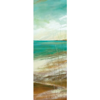 Portfolio Canvas Decor Carol Robinson 'Seafaring I' 12x36 Framed Canvas Wall Art (Set of 2)