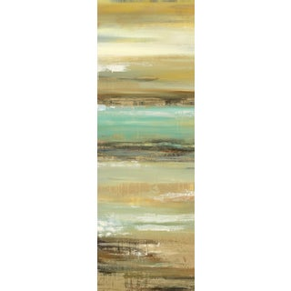 Portfolio Canvas Decor Elinor Luna 'Daring Departure 1' 12x36 Framed Canvas Wall Art (Set of 2)