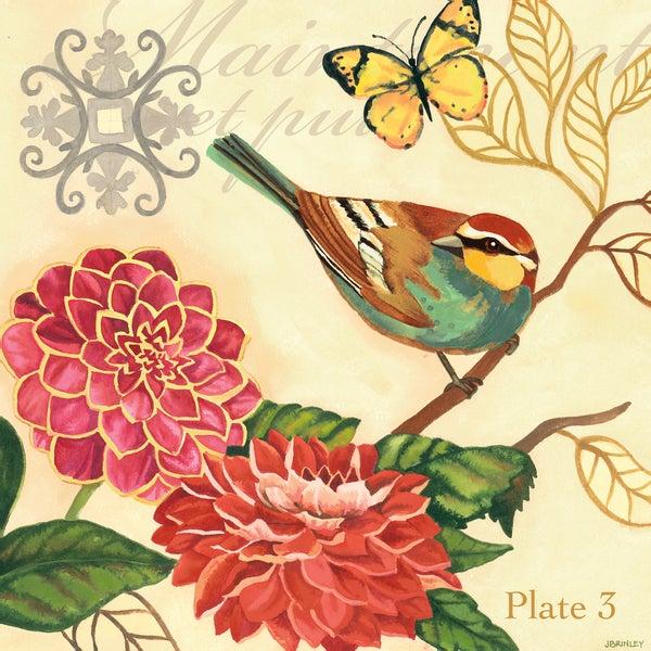 Shop Portfolio Canvas Decor Jennifer Brinley \'Bird Garden Poppy ...