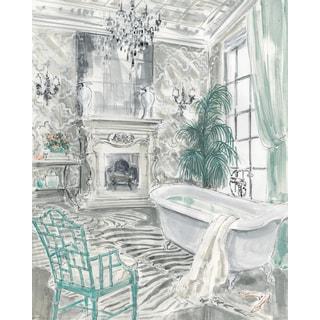 Portfolio Canvas Decor Jocelyn Haybittle 'Classical Bath I' 16x20 Framed Canvas Wall Art (Set of 2)