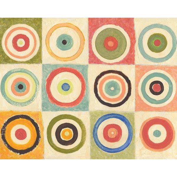 Portfolio Canvas Decor Ted Zorns \'Concentrical I\' 16x20 Framed ...