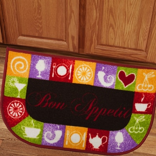 Bon Appetit 18x30 Kitchen Slice Rug